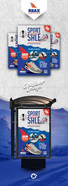 Sport Shop Billboard Templates by grafilker Sport Shop Billboard Templates Fully layeredINDDFully layeredPSD300 Dpi, CMYKIDML format openIndesign CS4 or laterCompletely edita