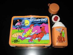 Metal Lunch Box and Matching Thermos | 17 Retro School Supplies We Wish Were On Our Shopping Lists