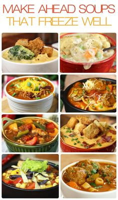 10 Make Ahead Soups That Freeze Well