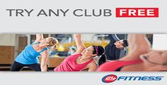 24 Hour Fitness Centers and Clubs. Free 3 day pass.