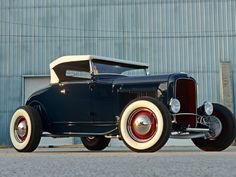Traditional Highboy 1931 Ford Model A Roadster was 45 Years in the Making - Hot Rod Network Classic Hot Rod, Classic Cars, Hot Rod Autos, Chevy Ssr, Traditional Hot Rod, Ford Roadster, Datsun 510, 32 Ford, The New Wave