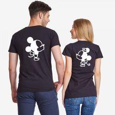 Комплект черни тениски за двойки Minnie T Shirt Painting, Mr Mrs, Mens Tops, Photography, Shirts, Fashion, Moda, Photograph, Fashion Styles