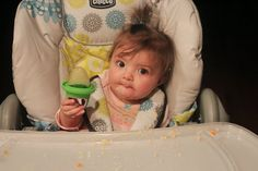 The Rookie Wife: Savanna Eats {What to feed an 8 month old}