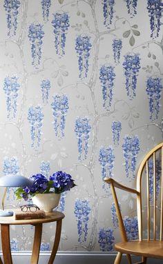 Wisteria wallpaper by Jocelyn Warner