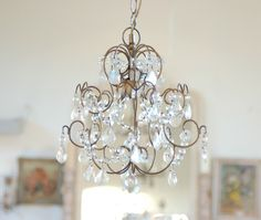 Pretty little chandelier