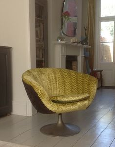 Reupholstered and recovered in Designers Guild fabrics
