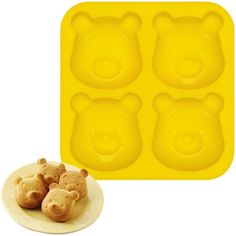 winnie the pooh silicon mold Maybe for biscuits and honey for shower brunch...