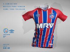 Camisas do EC Bahia 2016-2017 Umbro