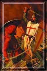 The crusades were a barbaric attack on the Middle Eastern Muslim population, living in peace
