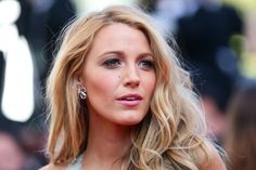 "Gorgeous Blake Lively at ""Mr Turner"" premiere during the 67th Annual Cannes Film Festival on May 15, 2014 in Cannes, France."