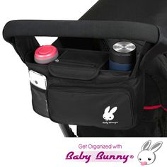 Amazon.com : Stroller Organizer, Baby Organizers Fits All Strollers, Britax, Graco, Pram, City Stroller, Maclaren, Works Best with Cute Babies, Collapsible Frame Folds Design with 2 Deep Drink Holders & 1 Large Zippered Pouch Keep Your Essentials : Baby