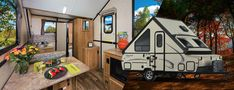 Hard Side & Hard Side High Wall Series  VACATIONS LIKE A LARGER TRAVEL TRAILER AND STORES LIKE A CAMPER. The Hard Side folding camper brings a smooth, fiberglass vacuum bonded exterior with quick, easy set up, while retaining the towing and storage advantages of the Classic tent camper....