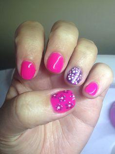 Pink/purple daisy