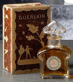 The Fragrance Shop Perfume Ad, Perfume And Cologne, Perfume Atomizer, Antique Perfume Bottles, Vintage Bottles, Parfum Guerlain, Perfumes Vintage, Perfume Packaging, Beautiful Perfume