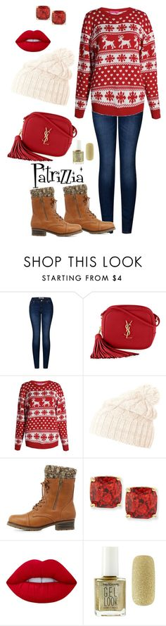Patrizzia27.11.2016a by patrizzia on Polyvore featuring moda, Boohoo, 2LUV, Charlotte Russe, Yves Saint Laurent, Kate Spade, Helly Hansen, Lime Crime and Forever 21