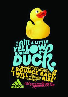 Badeenten-Werbung von Adidas Duck Quotes, Duck Memes, Rubber Duck Bathroom, Duck Wallpaper, Floor Stickers, Work Motivation, College Fun, Things That Bounce, Give It To Me