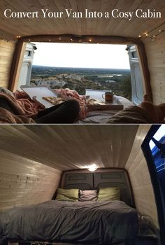 Convert Your Van Into a Cosy Cabin for Under £400!