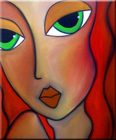 Art 'In The Past - - by Thomas C. Abstract Face Art, Art Sculpture, Beginner Painting, Arte Pop, Watercolor Artists, Art Portfolio, Mosaic Art, Female Art, Cool Art