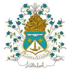 Love our crest.. (from geneologie.com, an ADPi licensed vendor)