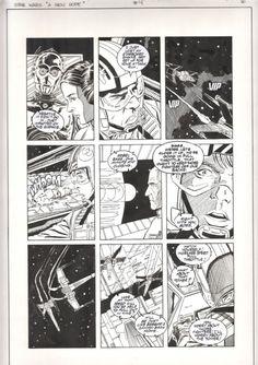 Star Wars A New Hope Special Edition Adaptation #4 pg. 16 by Eduardo Barreto, Al Williamson & Carlos Garzon (Dark Horse 1997) Comic Art