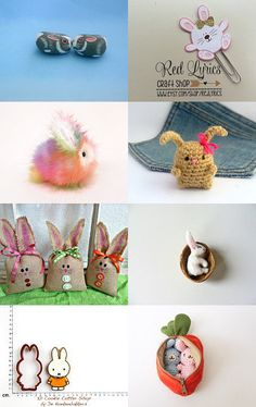 My little bunny by Nataly on Etsy--Pinned with TreasuryPin.com
