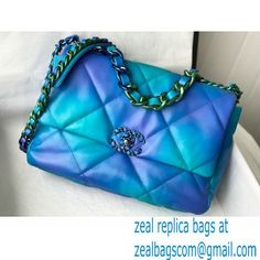 Chanel Tie and Dye Calfskin Small Flap Bag AS1160 2021