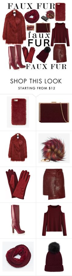 """""""Faux Fur"""" by mandimwpink ❤ liked on Polyvore featuring Missguided, Isabel Marant, Chloé, WithChic and fauxfur"""