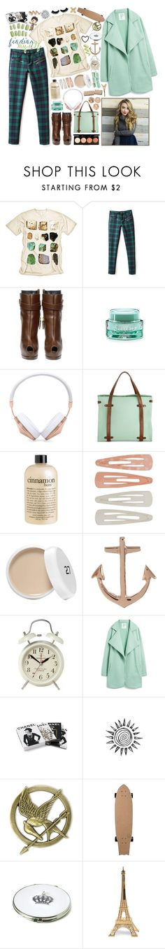 """""""we sit the brink with a drink in our hand and the other with the grip on the iPhone"""" by lavender-starlight ❤ liked on Polyvore featuring Mineral, Giuseppe Zanotti, Freeze 24-7, Revlon, Frends, philosophy, Forever 21, Minor Obsessions, Newgate and Pazzo"""
