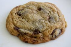 chocolate chip cookies with bourbon  (maybe i need to start a separate board for baking with booze . . .)