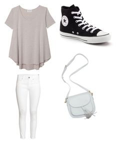 """Untitled #322"" by jamiesowers14 on Polyvore featuring Olive + Oak, H&M and Converse"