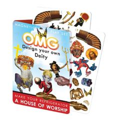 Magnetic Dress-up Dolls - OMG Design Your Own Deity Magnetic Play Set  Mix and Match God Creation Set -- Click image for more details.