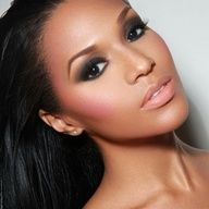 Black Bridal Makeup On Pinterest | Mac Bridal Makeup Natural Hair Brides And Black Wedding ...
