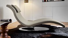 Find out all of the information about the Dall'Agnese Industria Mobili product: contemporary chaise longue / leather ART. Lounge Chair Design, Lounge Seating, Sofa Design, Cool Furniture, Furniture Design, Bedroom Furniture, Deck Chairs, Lounge Chairs, Massage Table