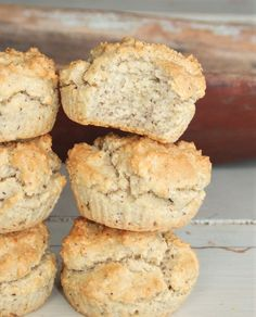 Nötiga LCHF bullar! Lchf, Fika, Low Carb Breakfast, Muffin, Gluten Free, Baking, Healthy, Alternative, Glutenfree