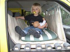 Das Kinderbett im Einsatz