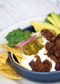 chili sin carne vegetar