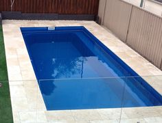 Miami Pools manufacturers over 13 different styles of fibreglass swimming pools ranging from to Come visit our website and you won't be disappointed. Swimming Pool Images, Swimming Pool Landscaping, Landscaping Ideas, Outdoor Spaces, Outdoor Living, Outdoor Decor, Outdoor Ideas, Small Fiberglass Pools, Miami Pool