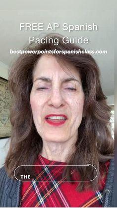Pacing Guide, Ap Spanish, Spanish Language, Lesson Plans, Curriculum, Student, Teaching, How To Plan, Essayist