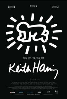 The universe of Keith Haring.  A portrait of New York artist Keith Haring.