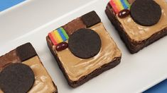 ORDER BOOK: http://www.nerdynummiescookbook.com Today I made chocolate peanut butter Instagram Brownies! I really enjoy making nerdy themed goodies and decor...