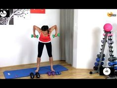 Upper Body Weights Workout - Reverse Pyramid Upper BARLATES BODY BLITZ - YouTube