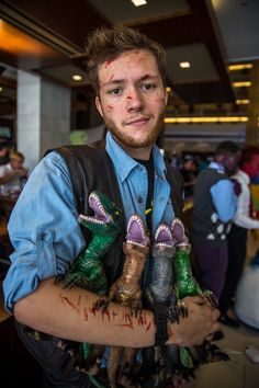 Dragon*Con 2015 Jurassic World Cosplay