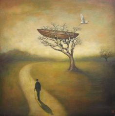Duy Huynh 1975 | Vietnamese Symbolist and Surrealist painter