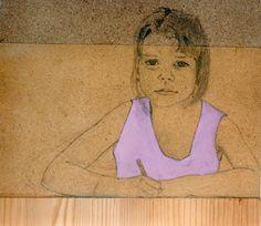 Oil on Wood by Carlota Delgar from Catalunya #Oil painter #Pintura a l'Oli #Art #Fusta #Dibuix i Pintura #Dibujo y Pintura