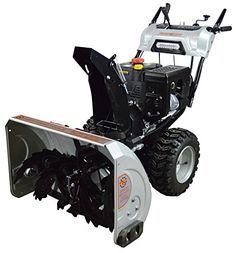 """Dirty Hand Tools 103879, 30"""" Dual Stage Snow Blower, 302cc Loncin Engine > 11 in. serrated, all-steel augers pull snow into the blower unit to power through the drifts 15 in. 3-blade impeller moves a massive amount of snow Rust-resistant exterior for durability Check more at http://farmgardensuperstore.com/product/dirty-hand-tools-103879-30-dual-stage-snow-blower-302cc-loncin-engine/"""