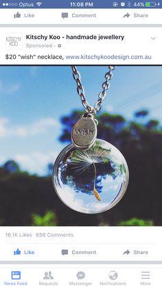 Wish necklace! I want