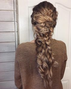 """371 Likes, 7 Comments - Anah Rotaru (@anahhair) on Instagram: """"Saturdays are for this type of braids  . . . . . #instahair #hairstyle #hairpost #hairoftheday…"""""""