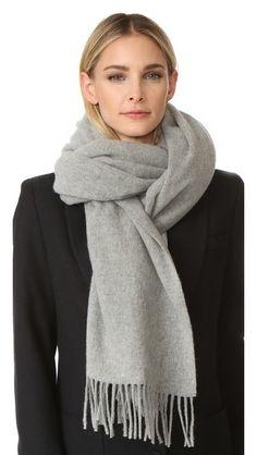 ACNE STUDIOS Canada Scarf. #acnestudios #scarf