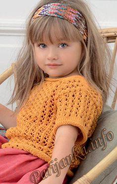 Пуловер (д) 21*106 Phildar №4159