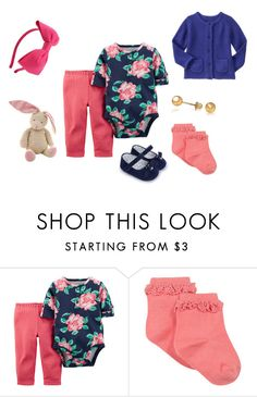 """""""Sin título #3308"""" by alejaborrayo ❤ liked on Polyvore featuring Gymboree, Bling Jewelry, Kate Spade, one, Baby, year and girl"""
